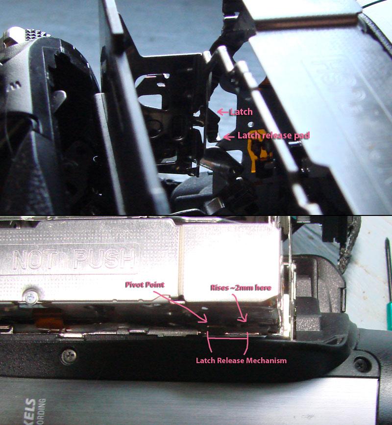Sony Hdr Hc3 Tape Door Won T Close With C 32 11 Error Code