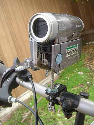 Building A Bicycle Camera Mount