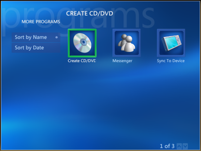 window media center icon