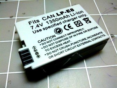 Canon Battery Pack Lp E8 Pinout