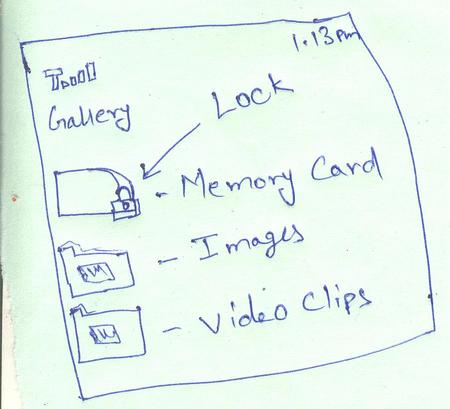 Micro SD card password in Nokia mobile phone