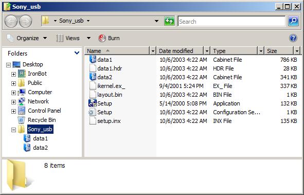 Connecting Sony Handycam to Windows Vista Via USB